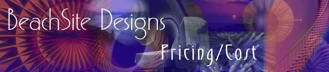 Pricing and Cost of a Website - Beachsite Designs of NC